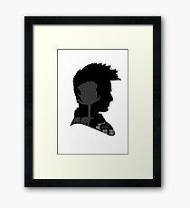 Tenth Doctor & Rose Tyler ~ Doctor Who Framed Print