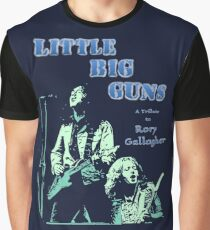 Little Big Guns Rory Gallagher Tribute Graphic T-Shirt