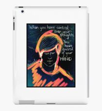 Thought Control iPad Case/Skin