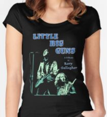 Little Big Guns Rory Gallagher Tribute Women's Fitted Scoop T-Shirt