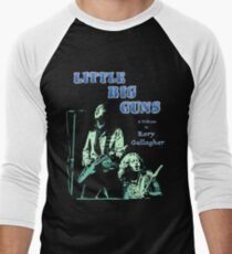 Little Big Guns Rory Gallagher Tribute Men's Baseball ¾ T-Shirt