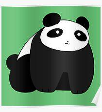 Chubby Panda Poster