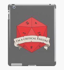 I'm a critical Failure iPad Case/Skin