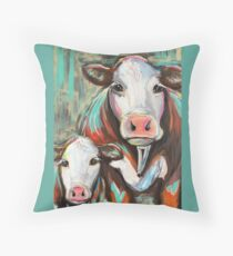 Clancy and Rayne Throw Pillow