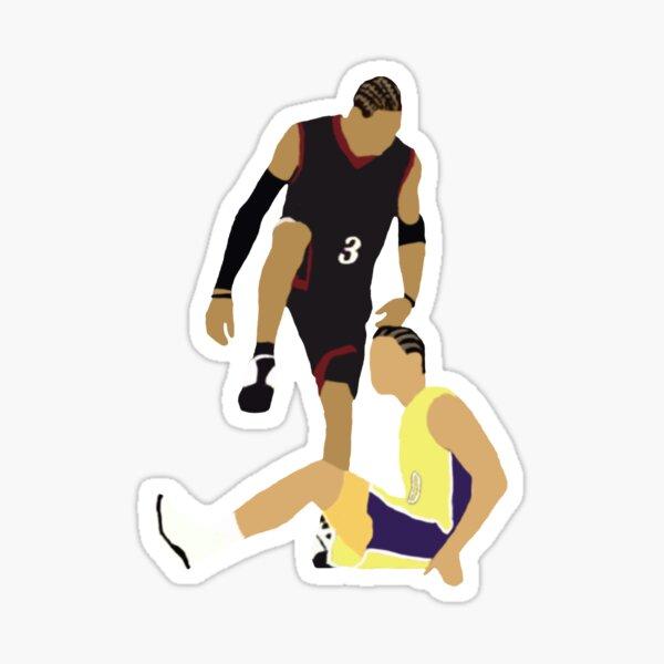 Allen Iverson étapes sur Tyronn Lue Sticker