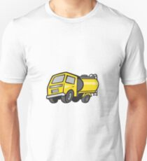 Baby Fuel Tanker Cartoon Unisex T-Shirt