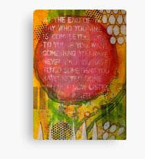 Floating Wisdom Canvas Print