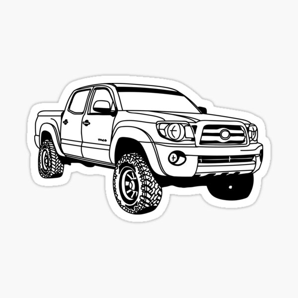 Double Taco Sticker