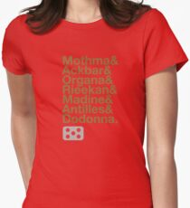 Ampersand Alliance Womens Fitted T-Shirt