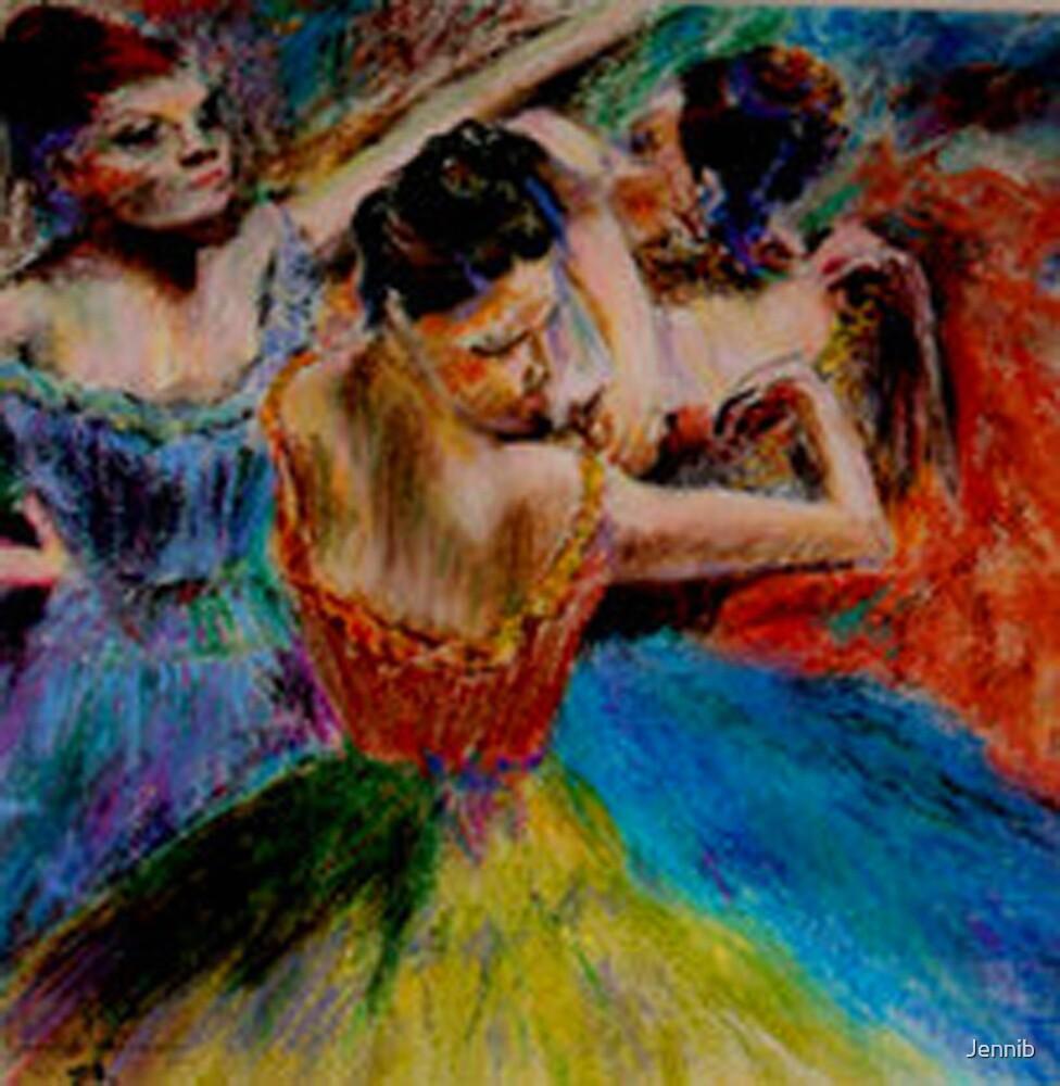 The dancers  by Jennib