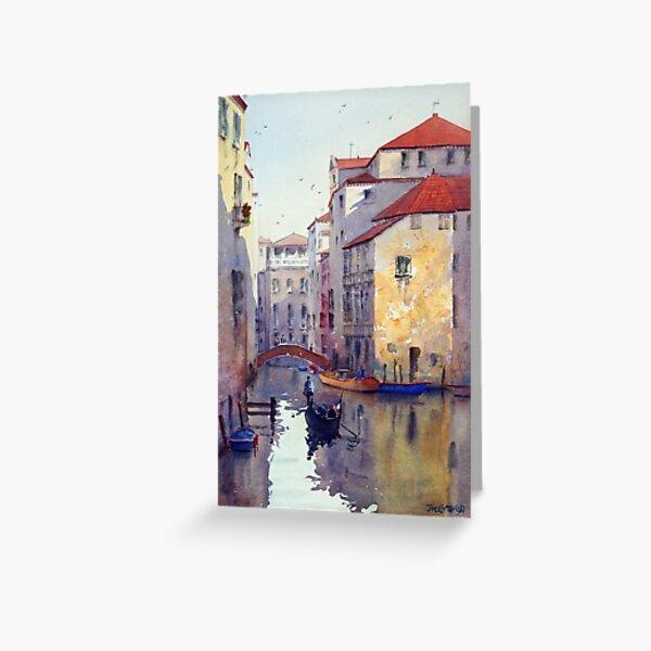 Venice Textures Greeting Card