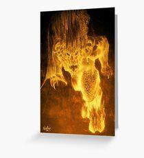 Balrog of Morgoth Greeting Card