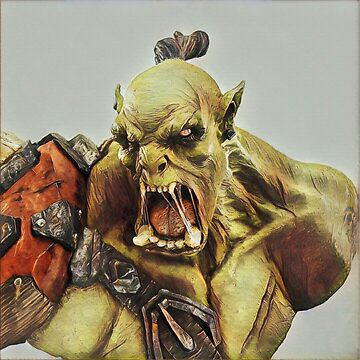 Orc Bust largeres by tehDiMo