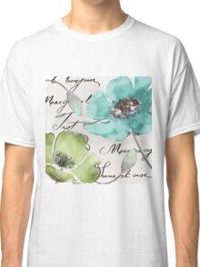 Fleurs de France Aqua Classic T-Shirt