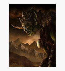 Bolg the Goblin King Photographic Print