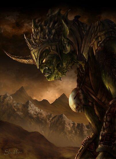 Bolg the Goblin King by Curtiss Shaffer