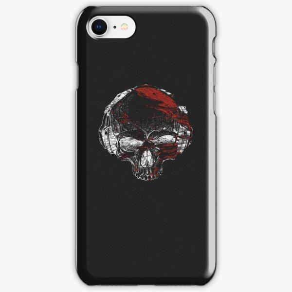Glitch Skeleton Art iPhone Snap Case