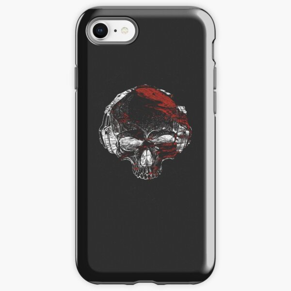 Glitch Skeleton Art iPhone Tough Case