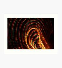 Twirls Art Print