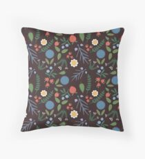 Herbal - Medieval Inspired Botanical Throw Pillow
