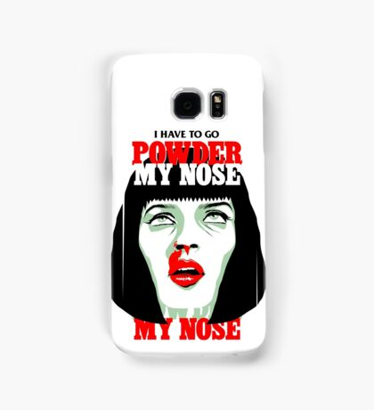 Powder My Nose Samsung Galaxy Case/Skin