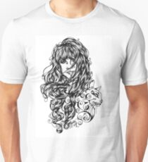 Like a Cat in the Dark Unisex T-Shirt