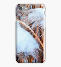 Snow On The Pampas iPhone Case/Skin