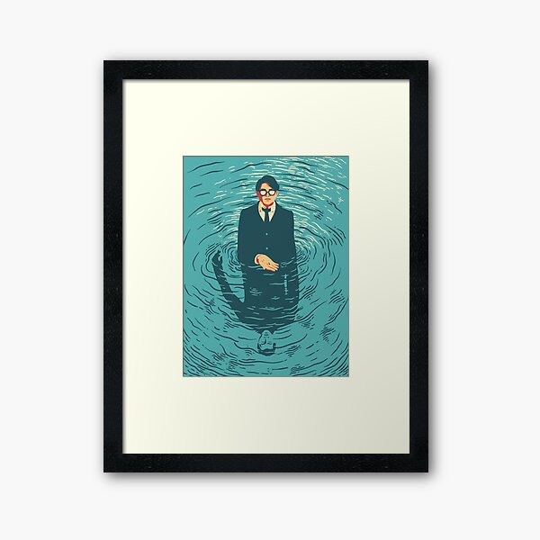 The Talented Mr. Ripley Framed Art Print