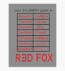 How To Party at Marist Photographic Print