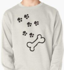Paw Prints T-Shirt Pullover