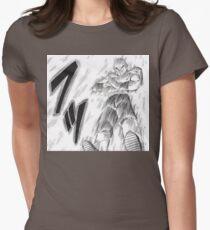 DBZ - Tien: Tri Beam Womens Fitted T-Shirt
