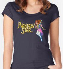 Phantasy Star (Genesis) Title Screen Women's Fitted Scoop T-Shirt