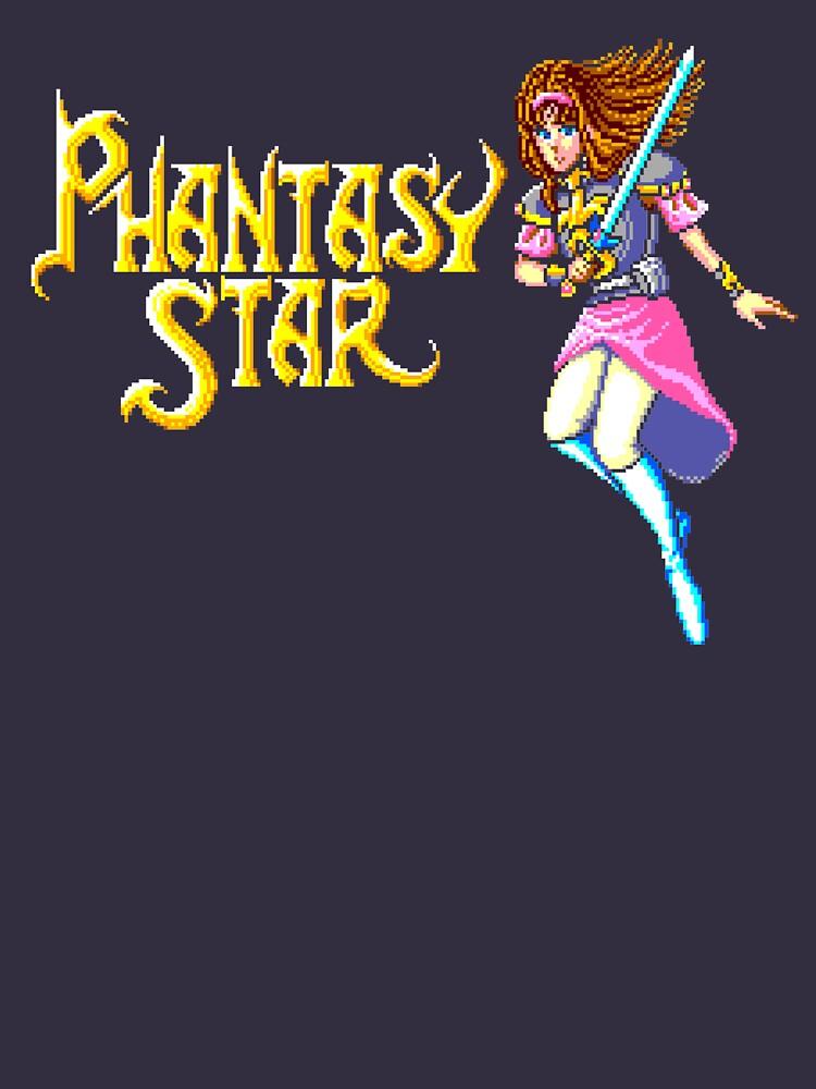 Phantasy Star (Genesis) Title Screen | Unisex T-Shirt