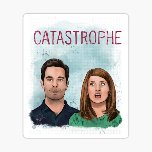 Catastrophe series Sticker