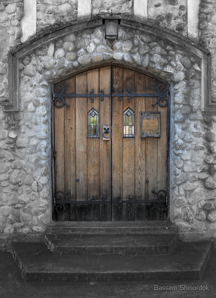 Church door way by Bassam  Shmordok