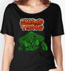 Swamp Thing (Nes) Title Screen Women's Relaxed Fit T-Shirt