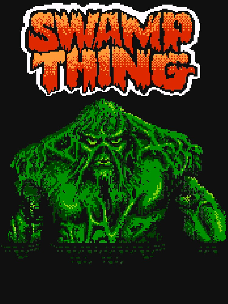 Swamp Thing (Nes) Title Screen by AvalancheShirts