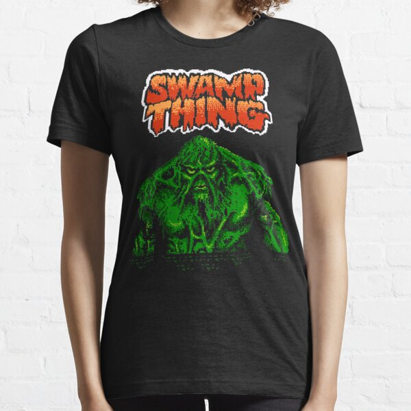 Swamp Thing (Nes) Title Screen Essential T-Shirt