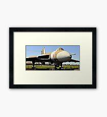 Falkland Warrior Framed Print