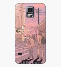Tokyo at Twilight Case/Skin for Samsung Galaxy