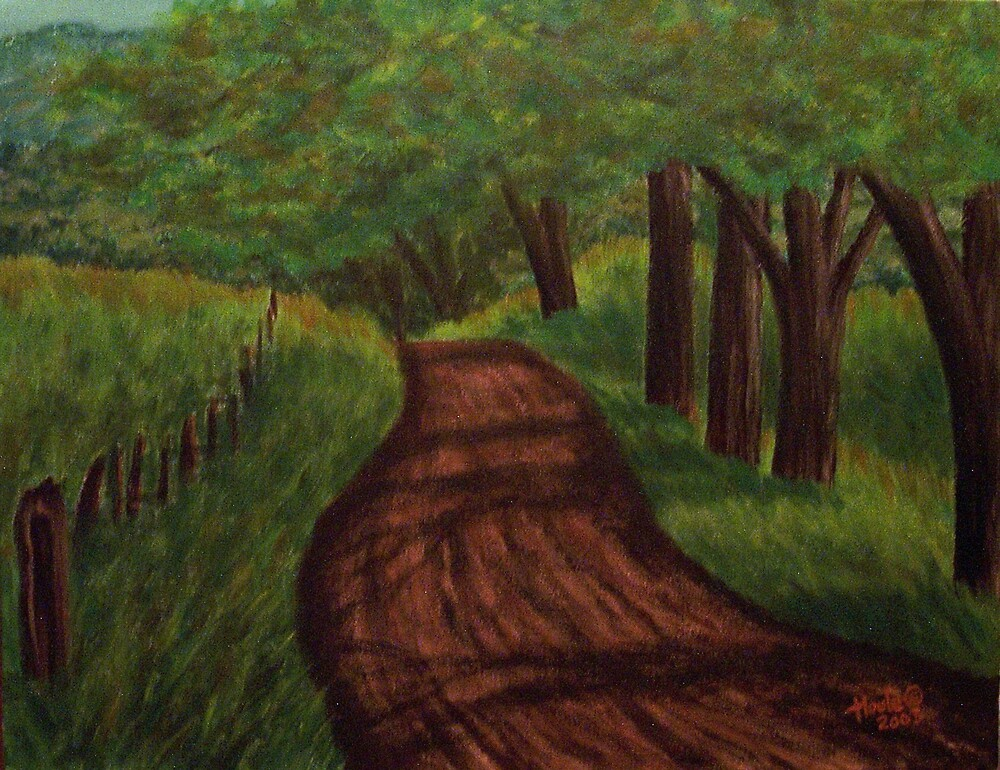 Lonely Road by John Houle