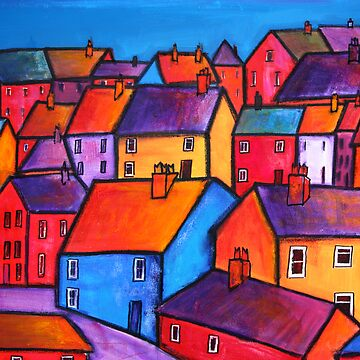 Coloured houses by huess