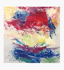 Abstract Oil Painting Photographic Print