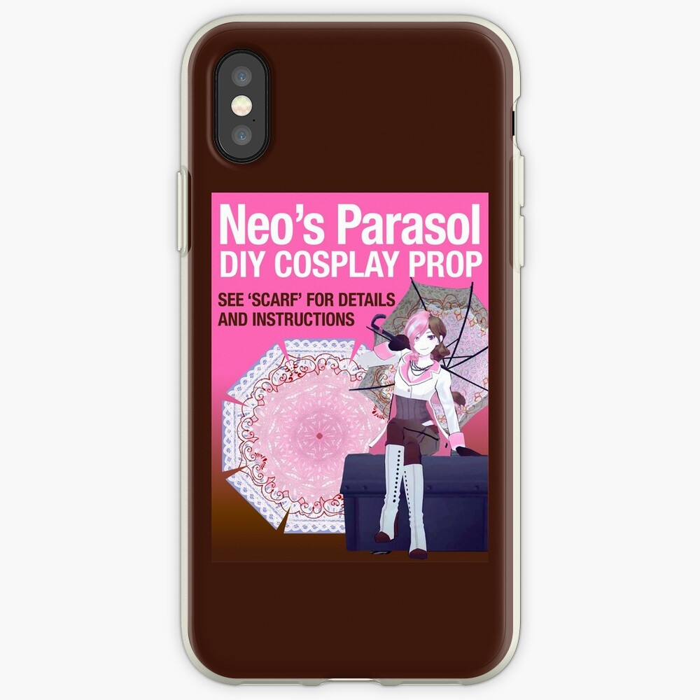 RWBY Neo Parasol COSPLAY PROP iPhone Case & Cover