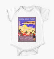 SIMPLON ORIENT EXPRESS: Train Travel Advertising Print Kids Clothes
