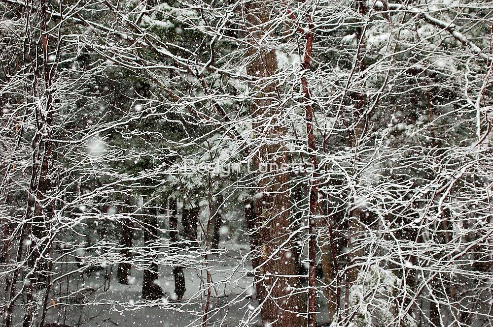 Spring Snow by Roslyn Lunetta