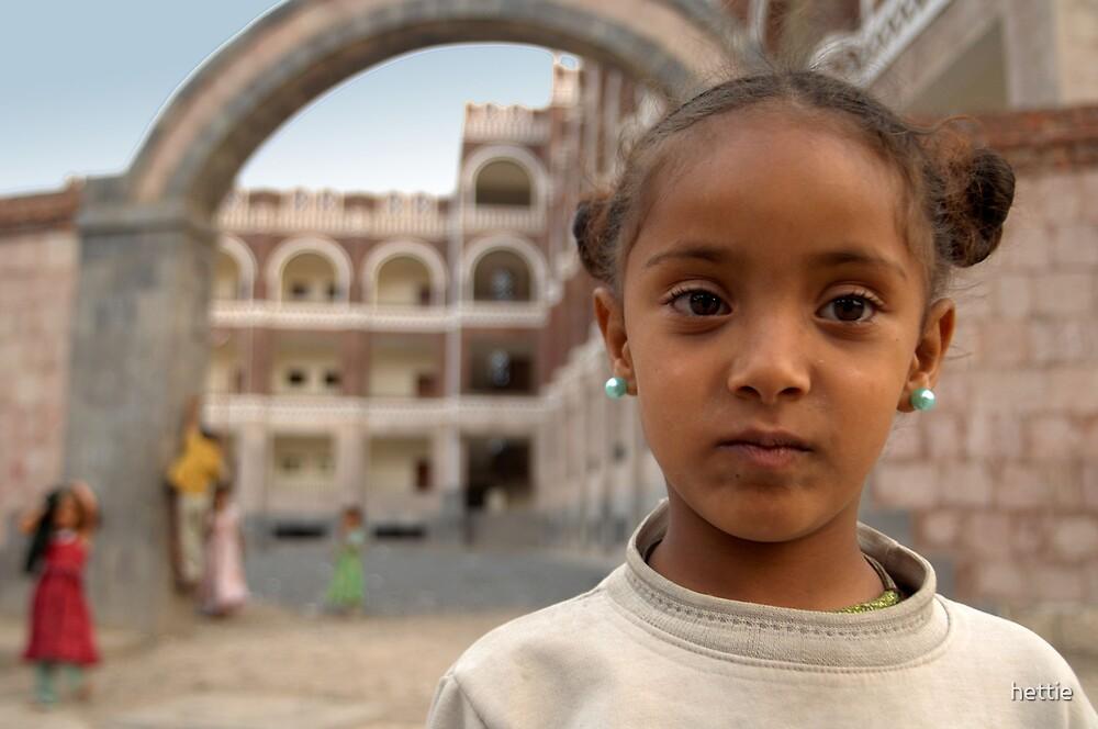 School girl by hettie