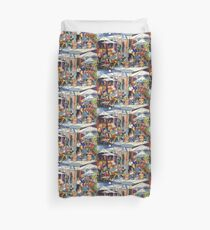 Coffee Hour Duvet Cover
