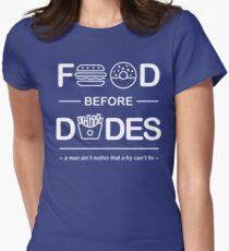 Official Chris Crocker - Food Before Dudes Shirt Womens Fitted T-Shirt