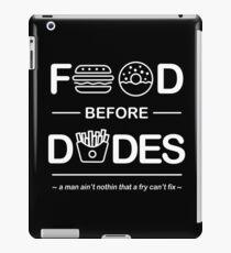 Official Chris Crocker - Food Before Dudes Shirt iPad Case/Skin